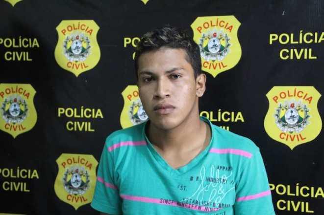 Robenilson se econtrava na Pousada do Menor a quatro meses atrás por praticar outros assaltos na fronteira - Foto: Alexandre Lima