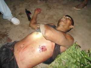 Isais foi morto com um tiro de escopeta desferido por Willes