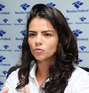 Delegada da Receita Federal em Rio Branco, Tatiana Roques.