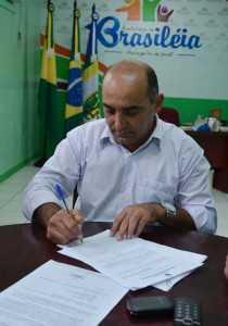 Prefeito de Brasiléia, Everaldo Gomes - Foto: Arquivo