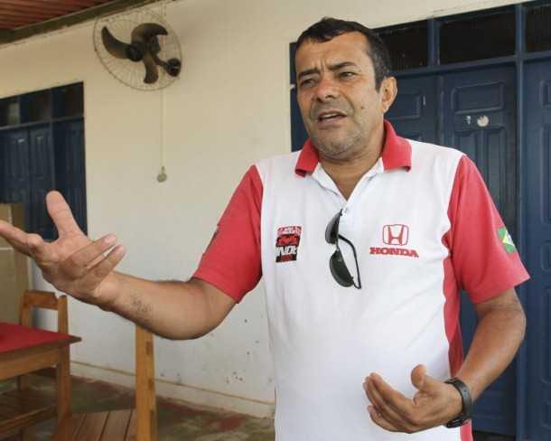 Damião Borges de Melo, coordenador do abrigo (Foto: Angela Peres/Secom)