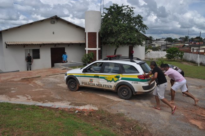 Viatura pararam por falta da combustível em várias cidades do Acre