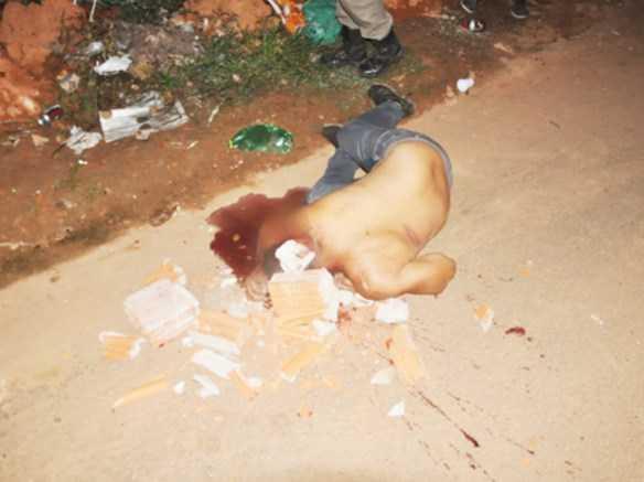 Romuscley foi morto com várias tijoladas/Foto: Selmo Melo/Agência ContilNet