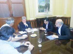 Betinho se reúne com o prefeito de Manaus, Arthur Virgílio (PSDB-AM).