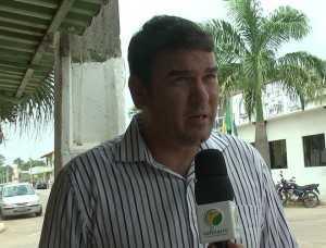 Júnior Revollo, presidente do Sindicato dos Comerciantes de Brasiléia - Foto: captura