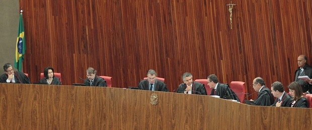TSE se reúne para analisar irregularidades junto com Ministério Público Eleitoral (Foto: Nelson Jr./ASICS/TSE)