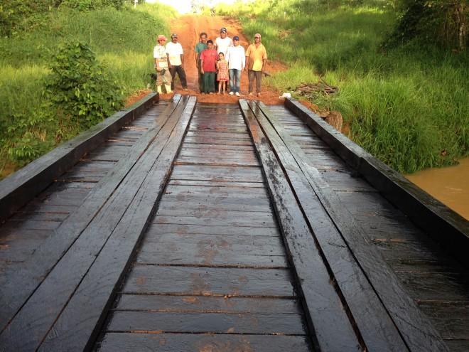 Ponte do Ramal Guajará foi muito bem recebida pelos moradores