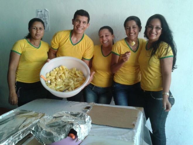 Turma do Mercado Cereais também na torcida pela Seleção Brasiléia