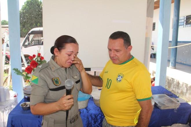 Os dois agora militares da reserva dedicaram 35 anos de sua vida, servindo ao cidadão acreano - Foto: Alexandre Lima