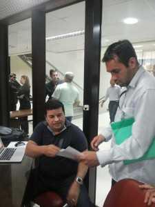 Jornalista recebeu a notificação nesta terça-feira/Fotos: Gina Menezes