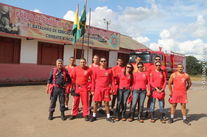 Treinamento durou dois dias às margens do Rio Acre - Fotos: Alexandre Lima