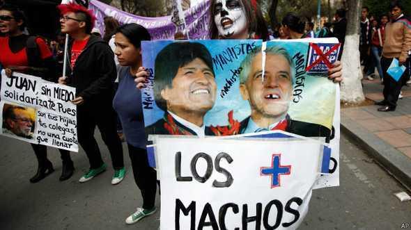 Até presidente Evo Morales já fez comentários machistas com mulheres na Bolívia