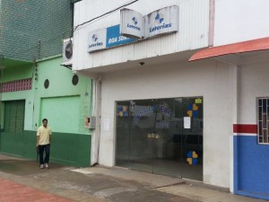 Em 2011, um criminoso morreu e outro ficou ferido ao tentar assaltar a mesma casa lotérica. (Foto: Erisney Mesquita)