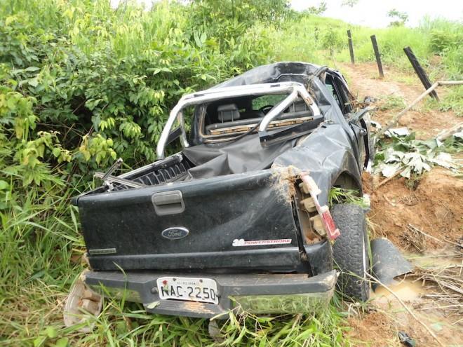 Primeiro acidente  ocorreu no km 26, deixou quatro feridos.