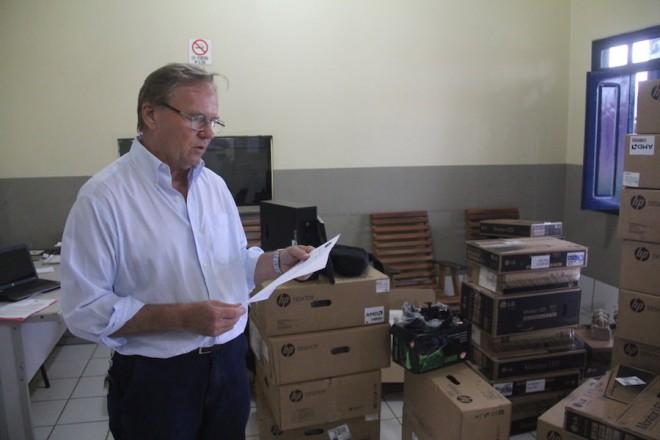 Renir Greabner vai voltar para sua terra natal, Florianopolis após entregar seu cargo no dia 31 deste mês - Foto: Alexandre Lima/Arquivo
