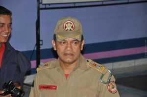 Comandante geral do Corpo de Bombeiros do Acre, coronel José Alberto Flores, participou da solenidade.