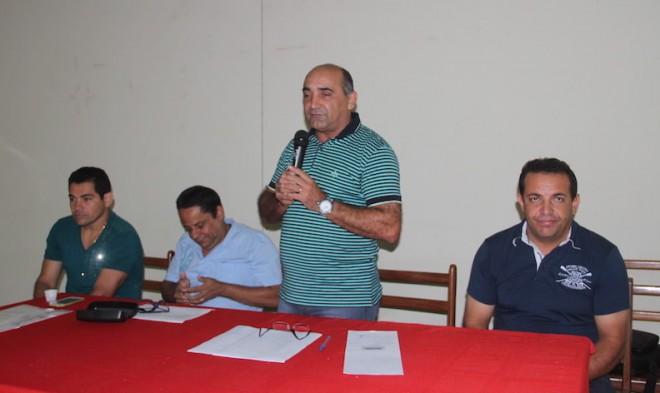 Prefeito Everaldo Gomes apresentou projeto para 2015 com muitas realizações - FOto: Alexandre Lima