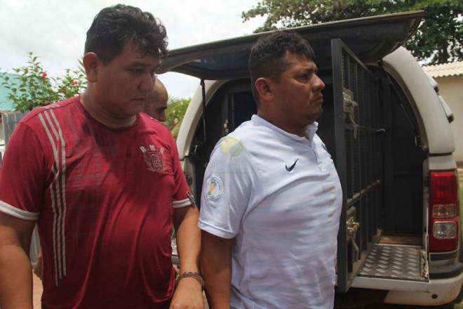João e Wildoro já tinham mandado de prisão em aberto quando foram surpreendidos comercializando drogas em Assis Brasil - Foto: Alexandre Lima