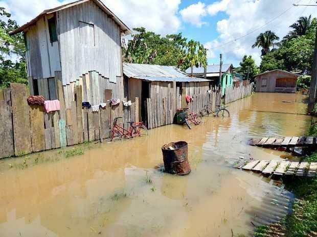 Defesa Civil está na cidade para fazer vistoria em área urbana e aldeias (Foto: Antônio Messias/Arquivo pessoal)