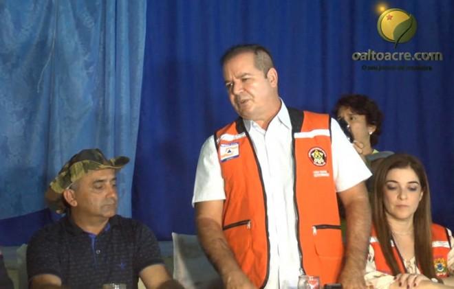 Governador se mostrou solidário em ralação aos problemas que estão e ficarão em Brasiléia.