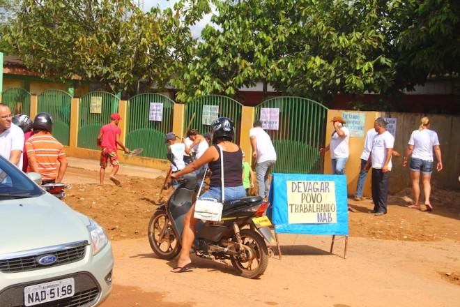 Movimento quer chamar atenção dos moradores, principalmente das autoridades para ajudar Brasileia - Foto: Alexandre Lima