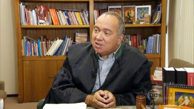 O juiz Flávio Roberto de Souza(TV GLOBO/Reprodução)