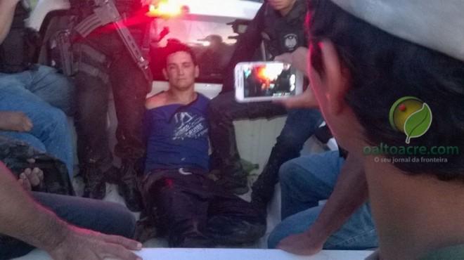 Homicida foi preso durante mega operação da polícia
