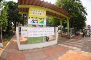 Faxada de Sede do Detran em Rio Branco /Foto: Alexandre Carvalho