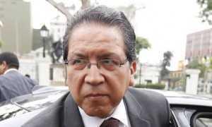 Caso pode virar um dos escândalos mais graves de corrupção no Peru, diz o procurador-geral do Peru, Pablo Sánchez Velarde - Hugo Perez / Agencia O Globo