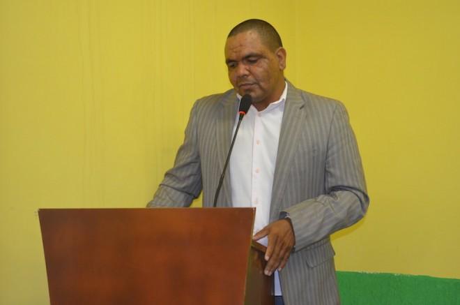 Presidente da Câmara de Brasileia, Mário Jorge Gomes Fiesca