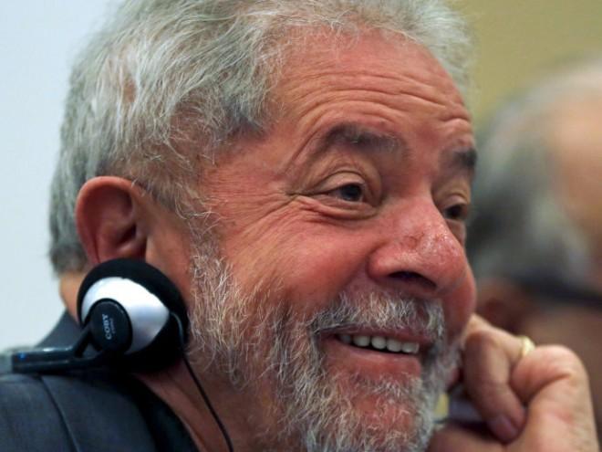 O ex-presidente Lula durante encontro em São Paulo - 22/06/2015(Paulo Whitaker/Reuters)