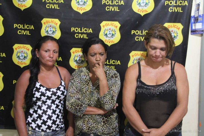 Antonia Leite Tabosa, Eliete Santana e Cleucimar Rates...
