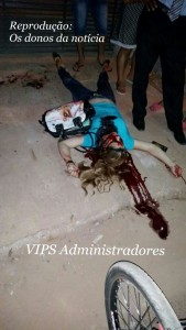 Vítima foi morta com 3 tiros - Foto:WhatSapp