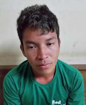 Josemir Machico da Silva Jaminawa, de 24 anos, cerca de 8 quilos e meio de entorpecentes.