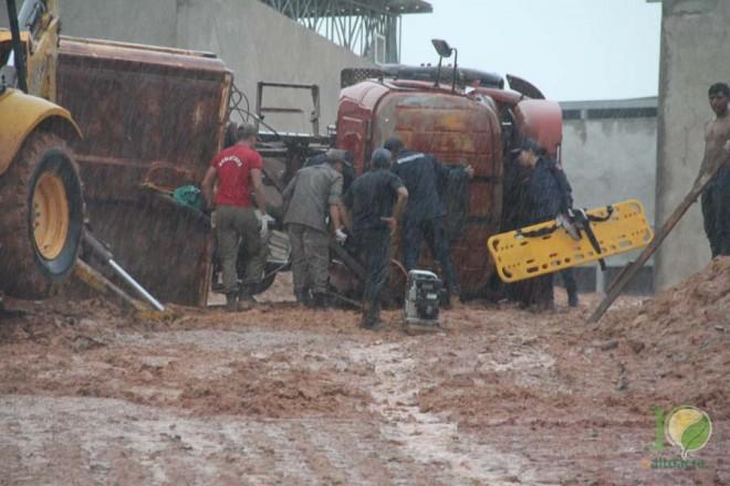 Resgate foi realizado pela equipe do Corpo de Bombeiros - Foto: Alexandre Lima