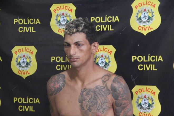 """, Jard Ramos dos Santos, vulgo """"Babinha"""", que estava sendo procurado pela justiça acreana, está sendo acusado de envolvimento na tentativa de assalto - Foto: Alexandre Lima"""