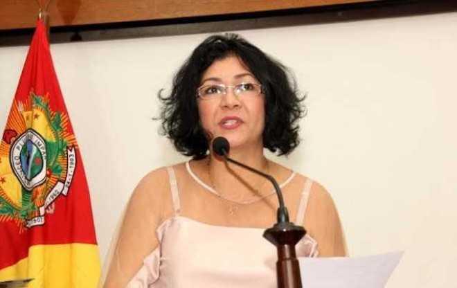 Deputada Eliane Sinhasique