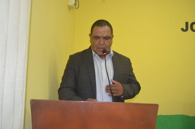 Presidente da Câmara de Brasileia, Mário Jorge Fiesca (PMDB)