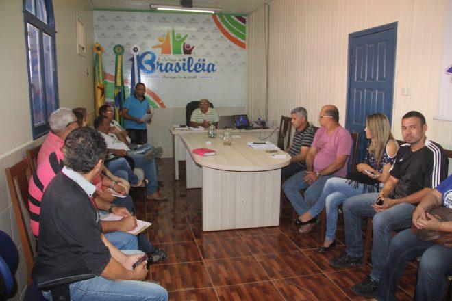Reunião de apresentação aconteceu no gabinete do prefeito Everaldo Gomes - Foto: Alexandre Lima