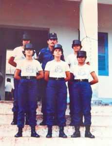 Para Ilena Cadaxo, as conquistas femininas devem ser motivo de orgulho para as policiais que estão atualmente no serviço ativo (Foto: Jean Messias/Assessoria PMAC).