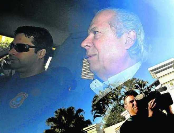Preso em agosto de 2015, José Dirceu recebeu propina na forma de consultorias, diz a Lava Jato
