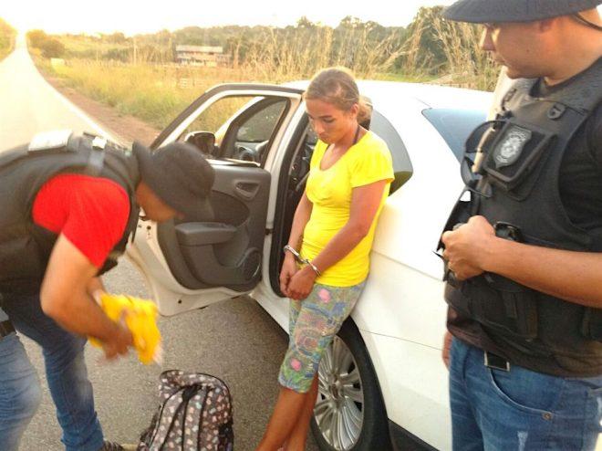 Antonia tentava chegar em Xapuri com uma carga de 1kg de maconha.