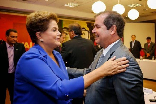 Tião voltou a se reunir com a presidente afastada Dilma Rousseff