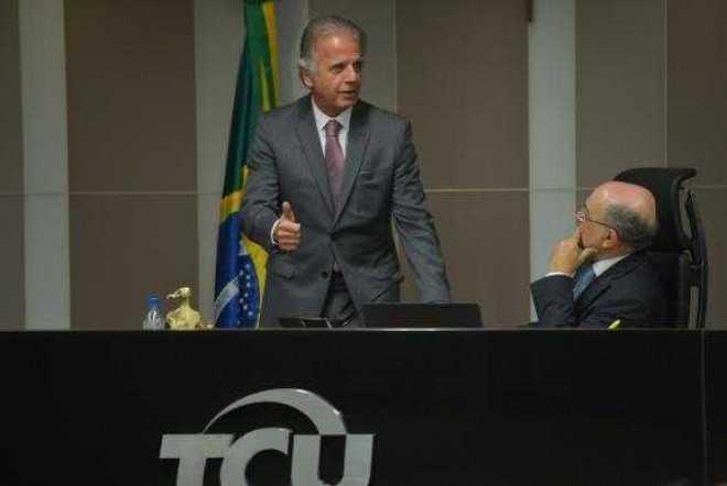 Ministro José Múcio Monteiro na sessão que, em junho, analisou as contas de 2015 da presidenta afastada Dilma RousseffJosé Cruz/Agência Brasil