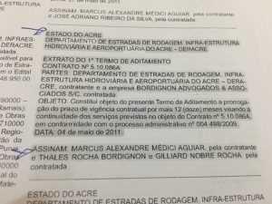 A banca 'Bordingnon Advogados & Associados S.C. faturou R$ 436.306,55