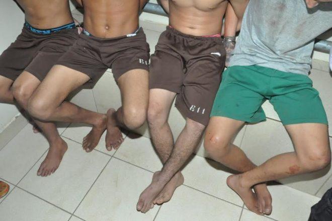 Menores foram detidos por agentes que fazem a segurança da Pousada Aquiry/Foto: ContilNet