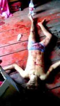 Matheus foi atingido ao menos por duas vezes pela mulher e morreu na sua casa.