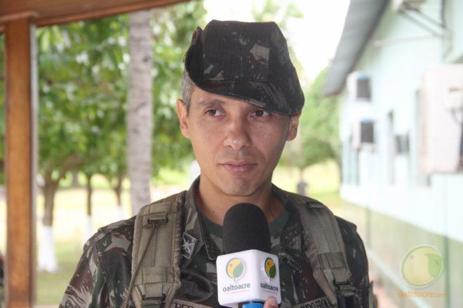 Major Wagner Peres, irá fazer parte da segurança do presidente da República em Brasília, DF - Foto: Alexandre Lima
