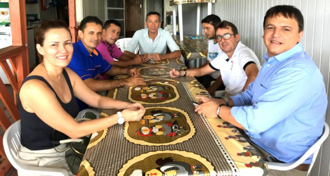 Bittar esteve em Xapuri, onde encontrou lideranças do PSDB e de outros partidos/Foto: Wania Pinheiro/ContilNet