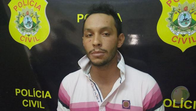 Diego é acusado de participar no latrocínio na Capital acreana e estava indo para a fronteira com o Peru - Foto: Alexandre Lima